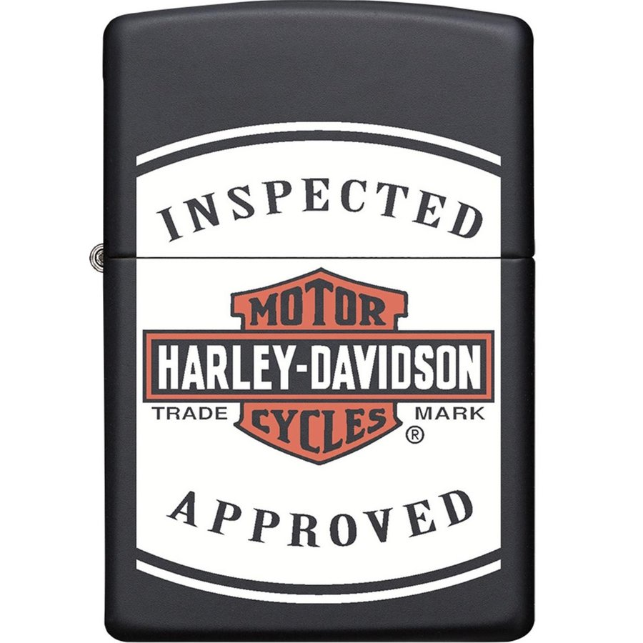 Lighter Zippo Harley Davidson Inspected Approved