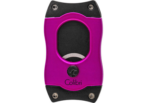 Cigar Cutter Colibri S-Cut Pink with Black Blades