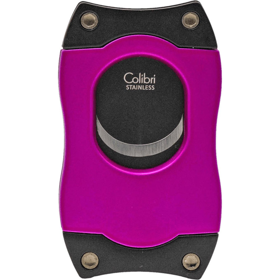 Sigarenknipper Colibri S-Cut Pink with Black Blades