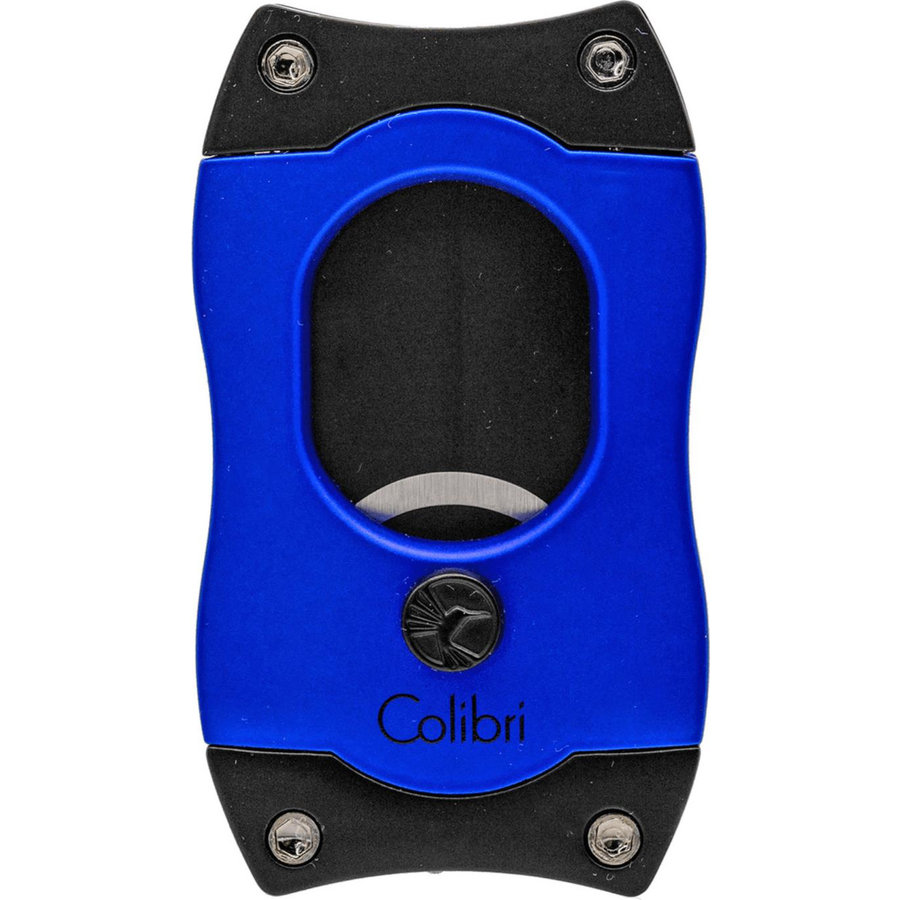 Sigarenknipper Colibri S-Cut Blue with Black Blades