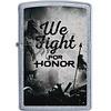 Zippo Aansteker Zippo We Fight For Honor