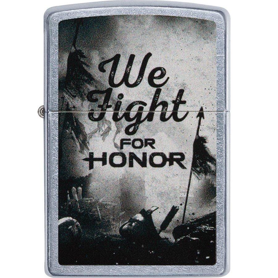 Aansteker Zippo We Fight For Honor