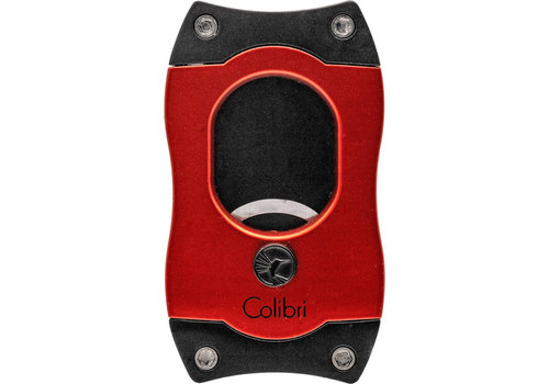 Sigarenknipper Colibri S-Cut Red with Black Blades