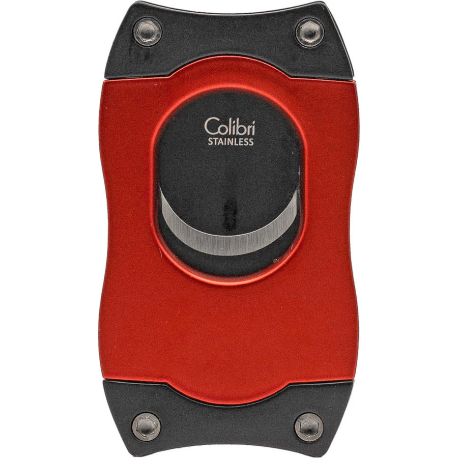 Cigar Cutter Colibri S-Cut Red with Black Blades