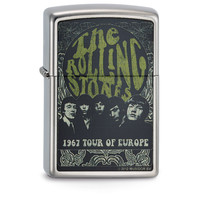 Aansteker Zippo Rolling Stones 1967 Tour of Europe