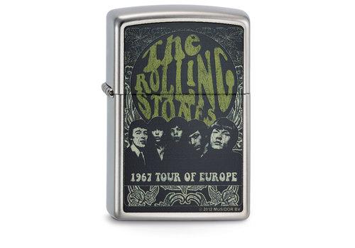 Lighter Zippo Rolling Stones 1967 Tour of Europe