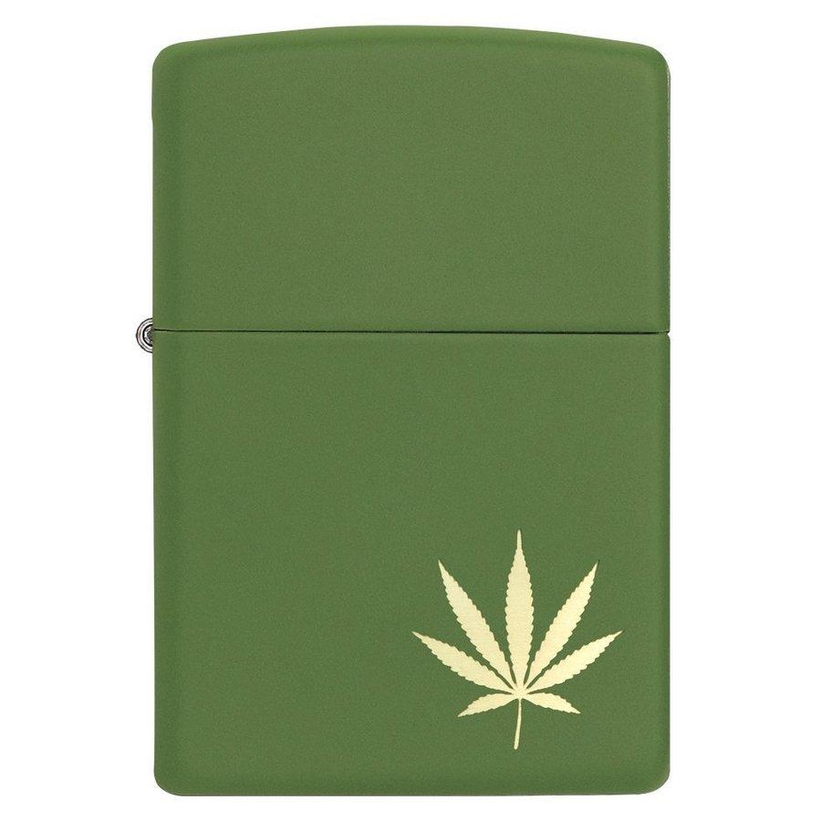 Lighter Zippo Hemp Leaf