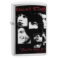 Lighter Zippo Rolling Stones Exile on Main Street