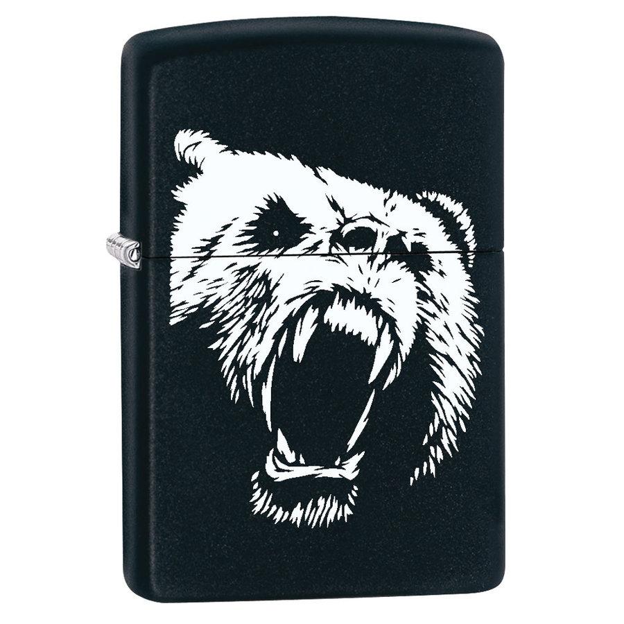 Lighter Zippo Bear Roaring