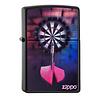 Zippo Lighter Zippo Darts Bulls Eye