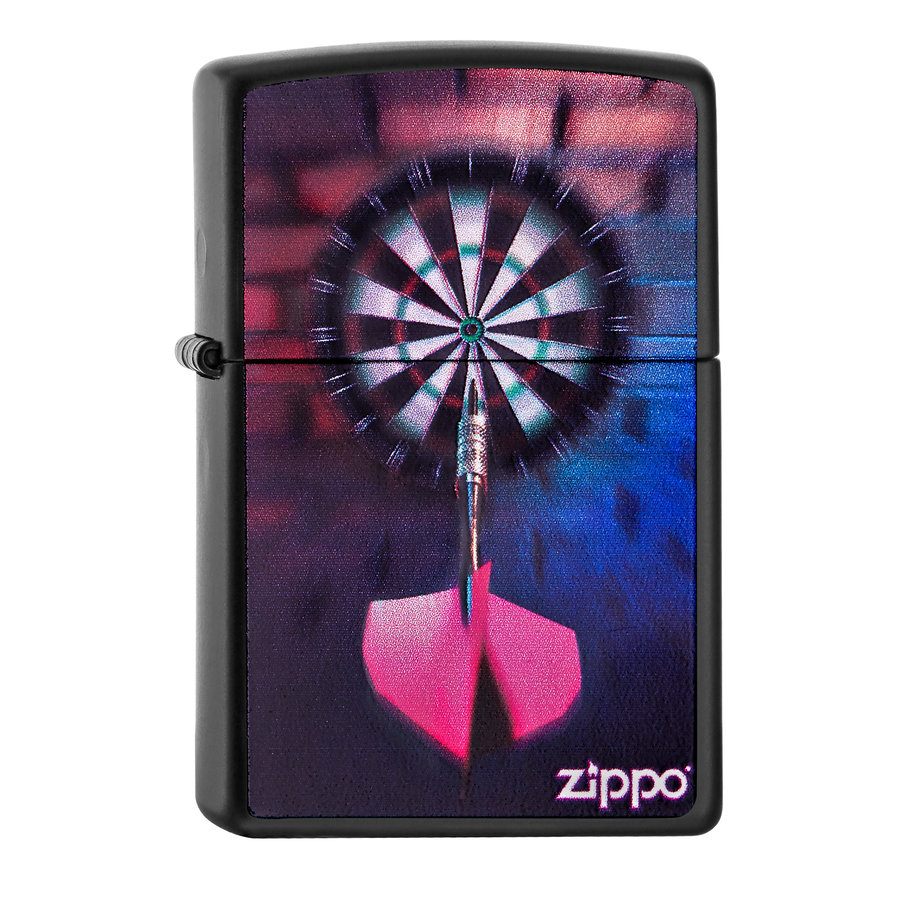 Lighter Zippo Darts Bulls Eye