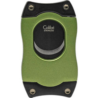 Sigarenknipper Colibri S-Cut Green with Black Blades