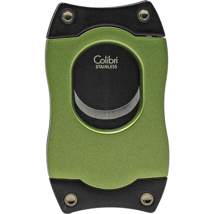 Cigar Cutter Colibri S-Cut Green with Black Blades