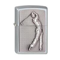 Aansteker Zippo Golfer 3D Emblem