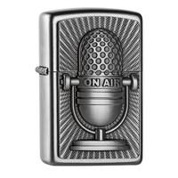 Aansteker Zippo Retro Microphone Emblem