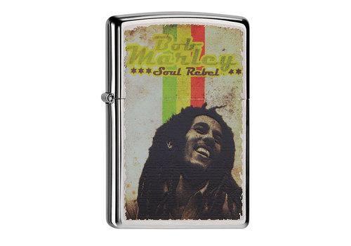 Lighter Zippo Bob Marley Soul Rebel