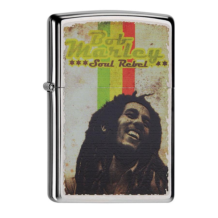 Aansteker Zippo Bob Marley Soul Rebel