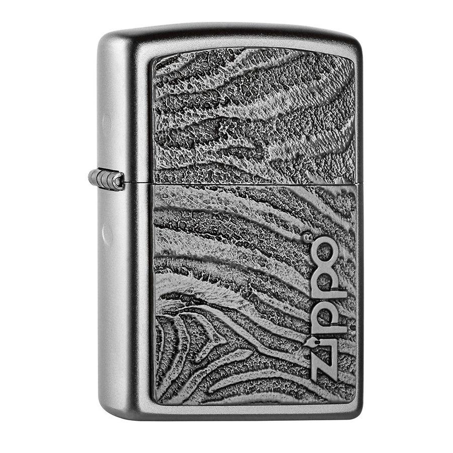 Aansteker Zippo Zebra Structure Emblem