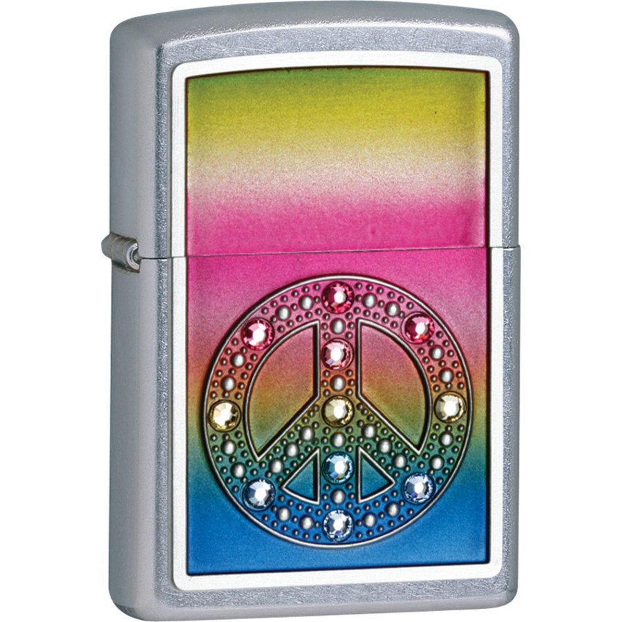 Lighter Zippo Peace for All Emblem