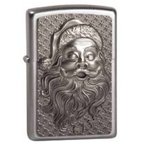Aansteker Zippo Santa Claus Emblem