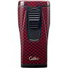 Colibri Lighter Colibri Monaco II Carbon Design Red