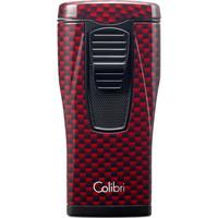 Aansteker Colibri Monaco II Carbon Design Red