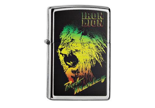 Lighter Zippo Bob Marley Iron Lion