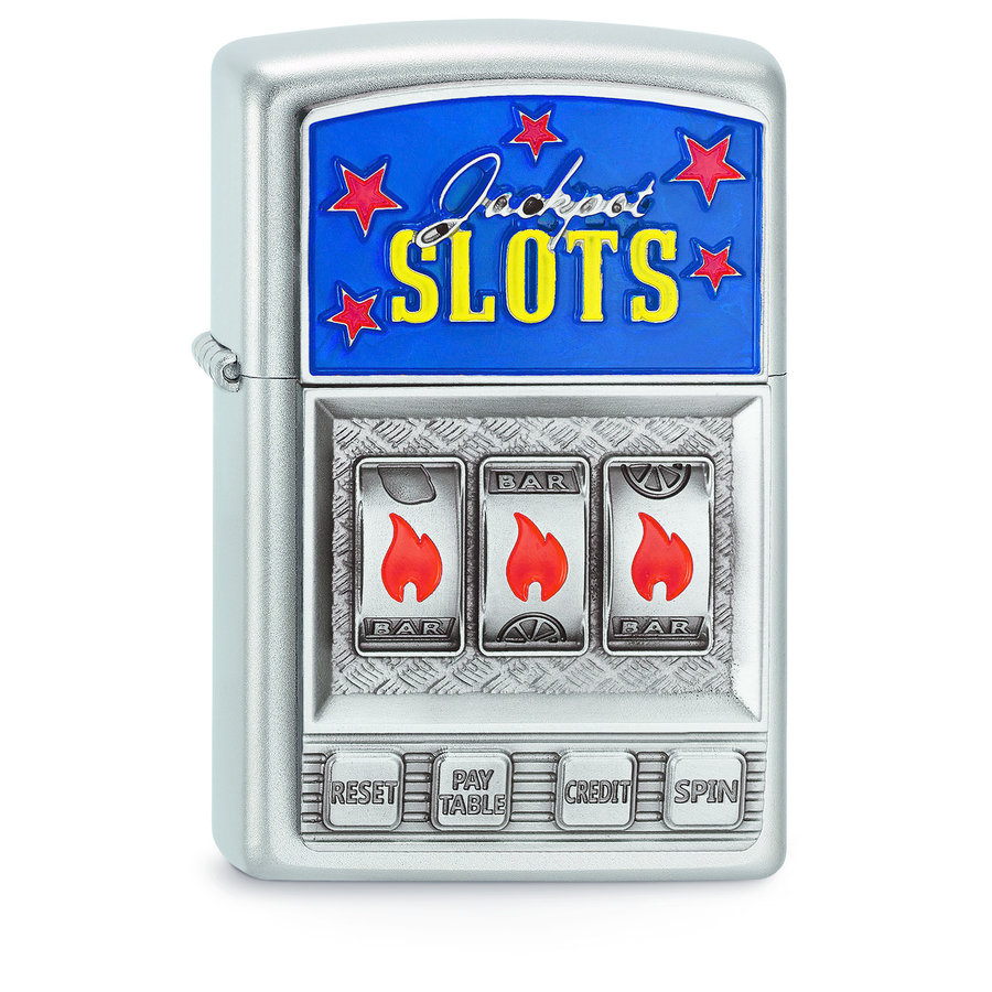 Aansteker Zippo Slot Machine Emblem