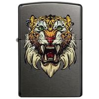 Lighter Zippo Tiger Tattoo Design