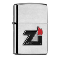 Aansteker Zippo Flame Pewter