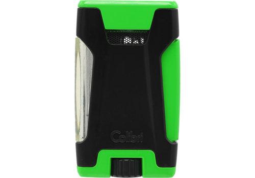 Lighter Colibri Rebel Green
