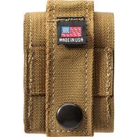 Gift Set Zippo Aansteker Black Crackle met Nylon Pouch Sand