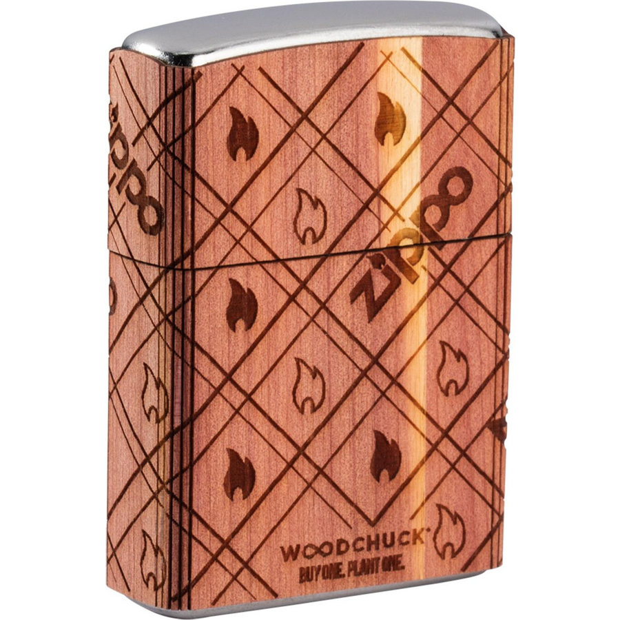 Lighter Zippo Woodchuck All Around Flames