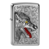 Lighter Zippo Wolf Emblem