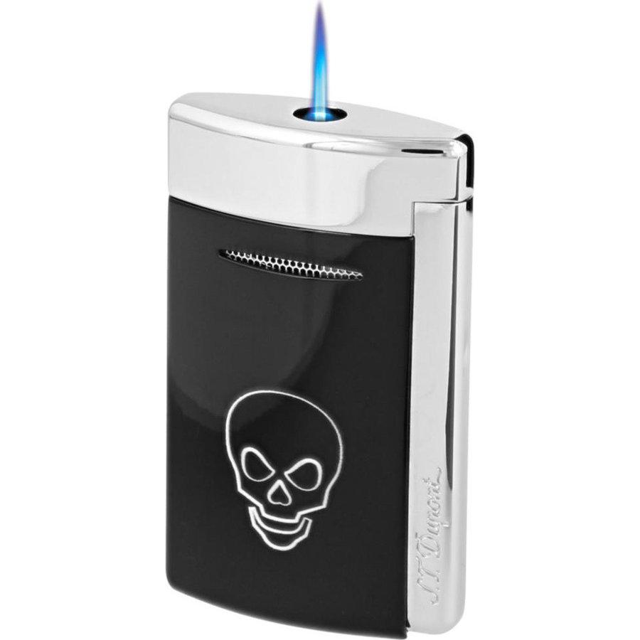 Aansteker S.T. Dupont Minijet 3 Black Skull
