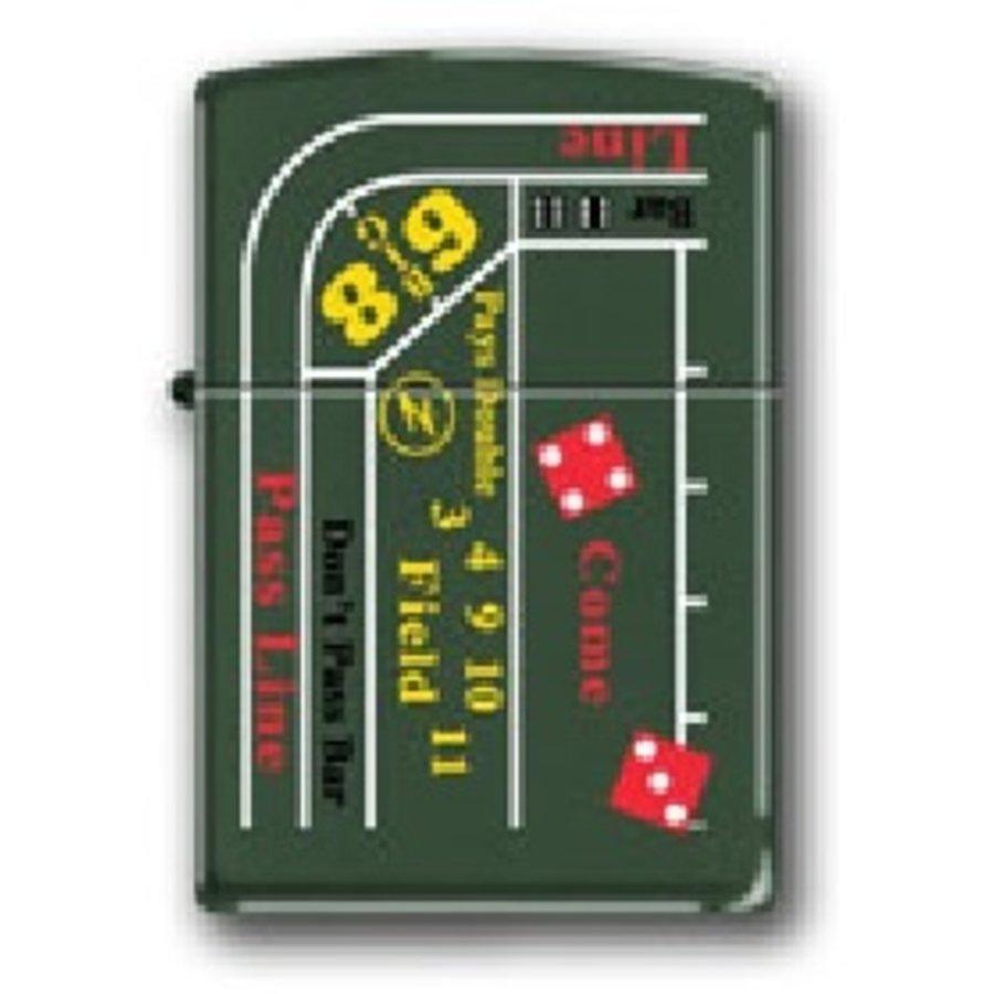 Aansteker Zippo Gambling Table