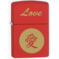 Aansteker Zippo Chinese Sign Love