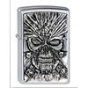 Zippo Lighter Zippo Death Mask Emblem