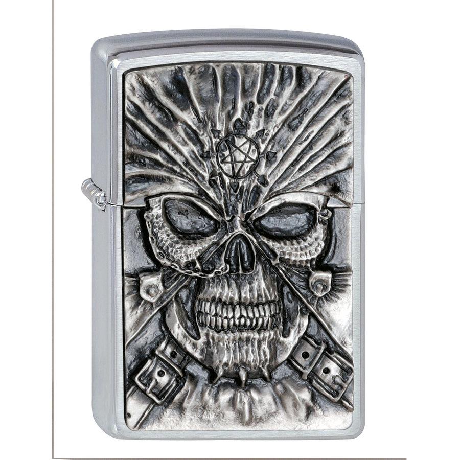 Lighter Zippo Death Mask Emblem