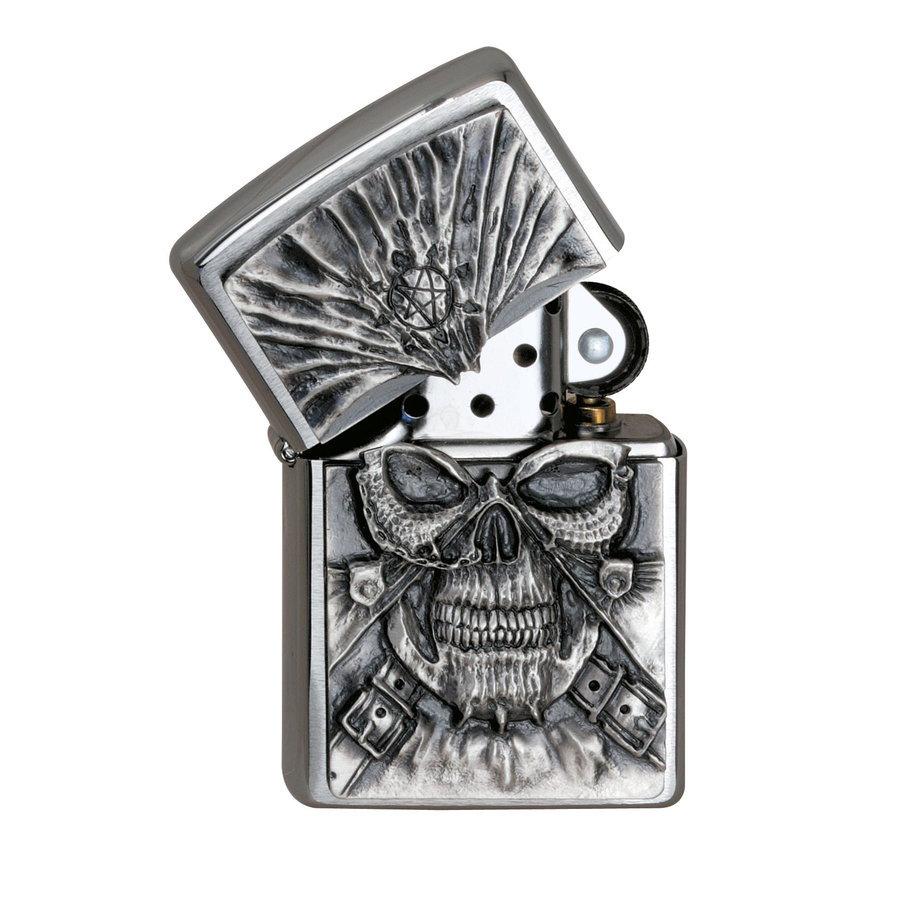 Aansteker Zippo Death Mask Emblem