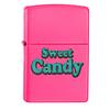 Zippo Lighter Zippo Neon Pink Sweet Candy