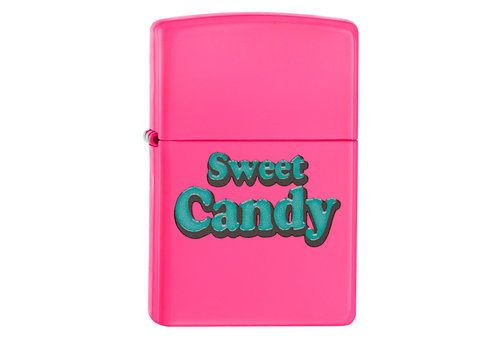 Lighter Zippo Neon Pink Sweet Candy