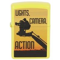 Lighter Zippo Camera Man