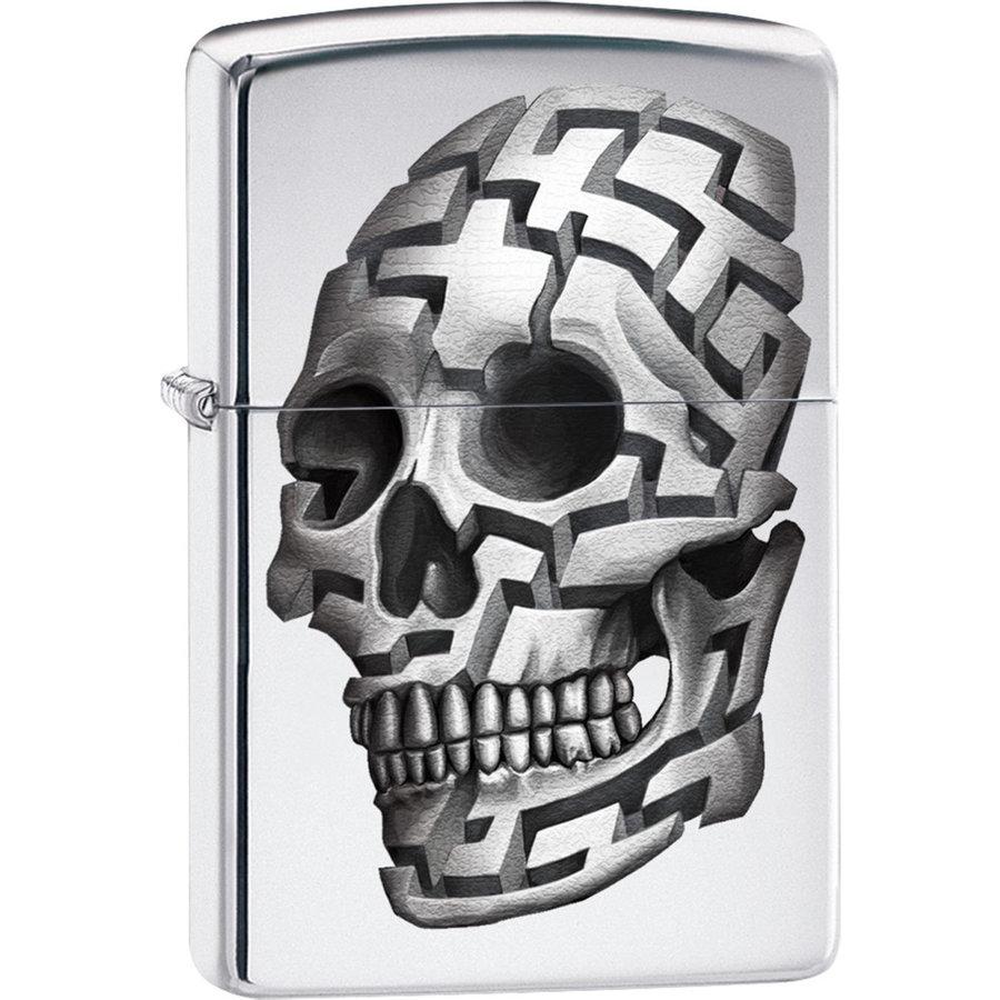 Lighter Zippo 3D Skull