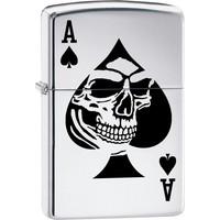 Aansteker Zippo Ace of Spade Skull