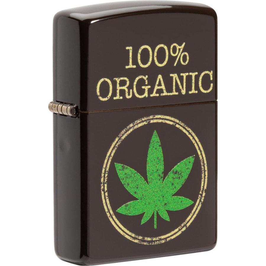 Lighter Zippo Leaf 100% Organic