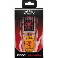 Lighter Zippo Fireball Whiskey Gift Set