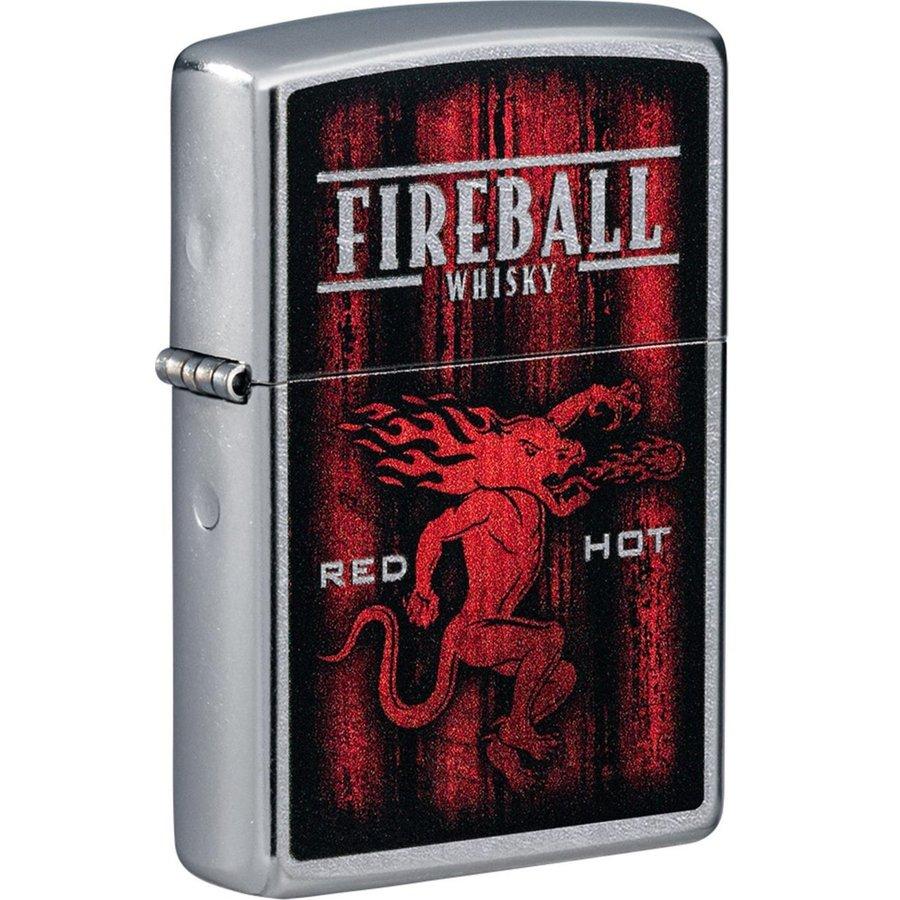Aansteker Zippo Fireball Whiskey Gift Set