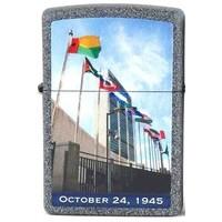 Lighter Zippo United Nations Oct. 24, 1945