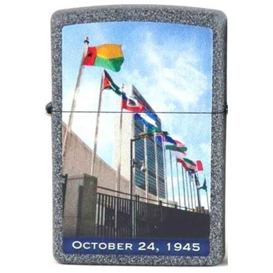 Aansteker Zippo United Nations Oct. 24, 1945